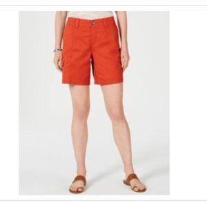 NWT Style & Co Comfort- Waist Cargo Shorts - 6